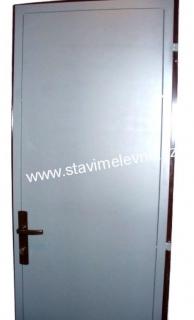 Plechové vchodové dveře